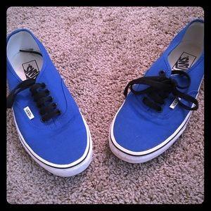 Blue thick sole vans